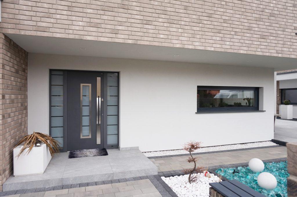 Drzwi aluminiowe, nakładkowe marki Wiśniowski